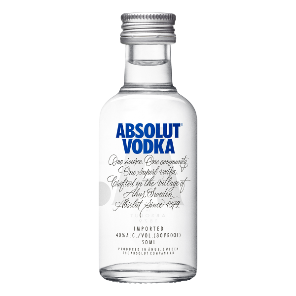Absolut Vodka 5 cl.
