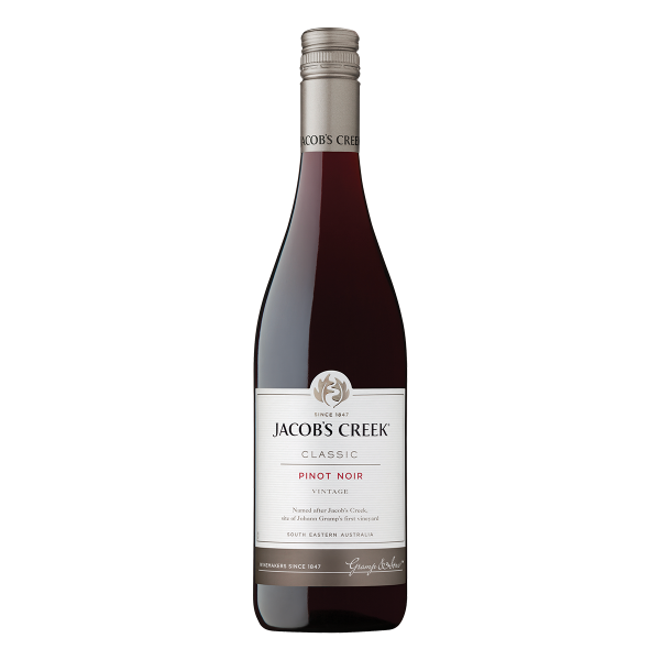 Jacob's Creek Pinot Noir punaviini.