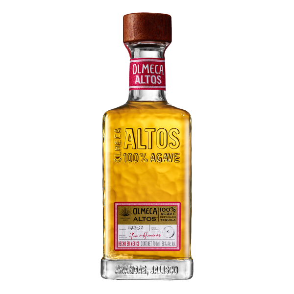 Olmeca Altos Reposado tequila.